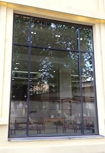 Витражное остекление, заполнения - однокамерные стеклопакеты, магазин Театр Интерьера